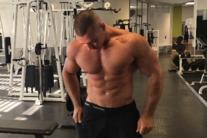 Bankdrücken Brust Training
